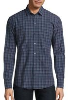 Zachary Prell Plaid Button Front Shirt