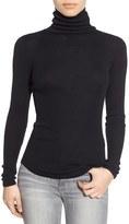 Joe's Jeans Women's 'Gayle' Ribbed Silk Turtleneck