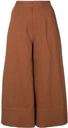 Co cropped palazzo pants
