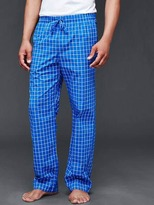 Gap Windowpane PJ pants