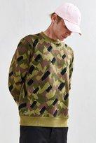 Lacoste Camo Fleece Crew Neck Sweatshirt