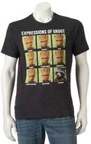 Marvel Men's Guardians of the Galaxy Expressions of Groot Tee