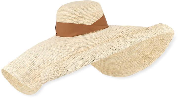 38f6d63aa Studio Crochet Straw Glamour Hat