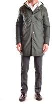 Daniele Alessandrini Men's Green Polyamide Outerwear Jacket.