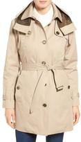 London Fog Women's Single Breasted Trench Coat