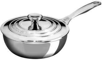 Le Creuset 2-Quart Stainless Steel Sauce Pan with Lid