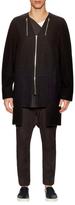 Rick Owens Wool Zip Coat