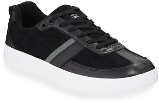 Original Penguin Braiden Suede Low-Top Sneakers