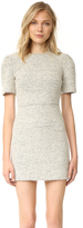Alice + Olivia Genny Pouf Sleeve Dress
