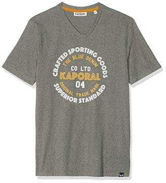Kaporal Men's Golia T-Shirt, Grey M11 Armmel, M