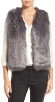 Sole Society Women's Faux Fur Vest
