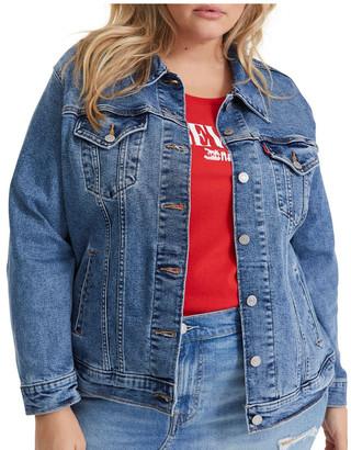 Levi's Curve Plus Ex-Boyfriend Trucker Jacket