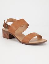 City Classified Cross Strap Womens Sandals