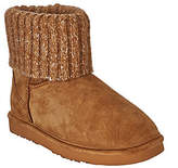 Lamo As Is Suede Water Resistant Boots with Sweater Cuff - Empire