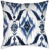 Laural Home Ikat Decorative Pillow, Indigo