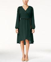 Thalia Sodi Lace-Trim High-Low Dress, Only at Macy's
