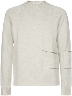 Jacquemus Pocket Knitted Sweater
