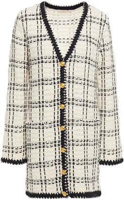 Tory Burch Linen-blend Boucle-tweed Jacket