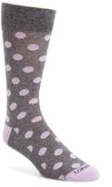 Lorenzo Uomo Men's Genova Dot Socks