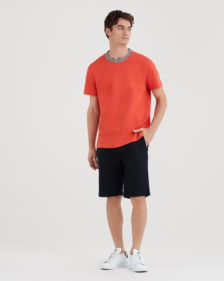 7 For All Mankind 9'' Inseam Total Twill Chino Short in Deep Sea