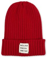 Forever 21 Dream Big Ribbed Knit Beanie