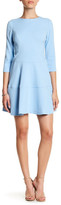 Vince Camuto Jersey Fit & Flare Dress (Petite)