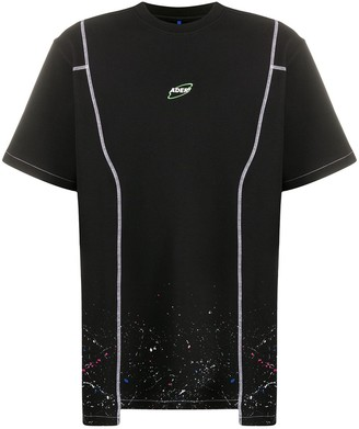 Ader Error cosmo paint-splatter T-shirt