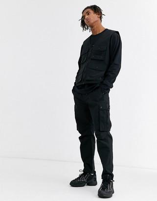 Topman vest in black
