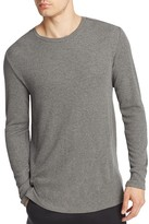 Ovadia & Sons Woven Trimmed Slim Fit Thermal Tee