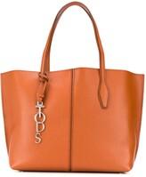 Tod's leather panel bag