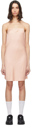 Alexander Wang Pink Light Wash and Go Mini Cami Dress