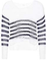 Anna Kosturova Sailor crocheted cotton sweater
