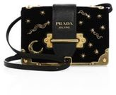 Prada Small Velvet Astrology Cahier Bag