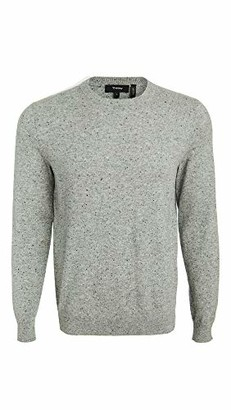 Theory Mens Speckled Donegal Crew