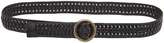 Oxford Olivia Leather Woven Belt