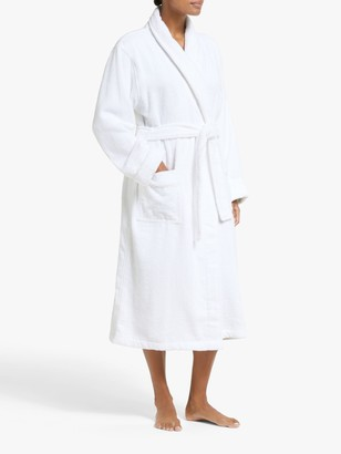 John Lewis & Partners Silky Suvin Unisex Bath Robe