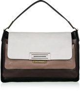 Grey Tri Colour Shoulder Bag