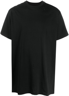 B Used oversized fit T-shirt