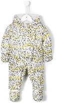 Kenzo leopard print snowsuit