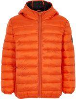 River Island Boys Orange puffer coat