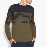La Redoute Collections Striped Crew Neck Jumper