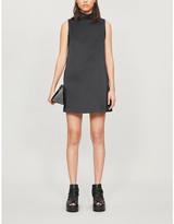 we11done We11 Done Sleeveless crepe mini dress