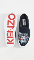 Kenzo K-Skate Slip On Tiger Sneakers