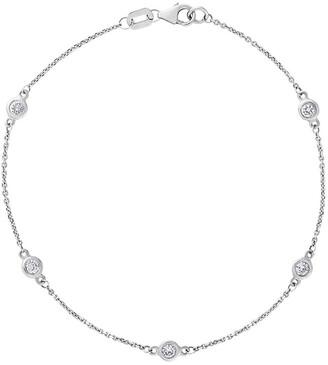 Heritage 14K 0.36 Ct. Tw. Diamond By The Yard Bracelet