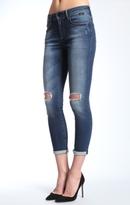 Mavi Jeans Ada Petite Boyfriend In Shaded Ripped Gold Pop Sta