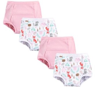 Hudson Baby Training Pants 4pk (Baby Girls)