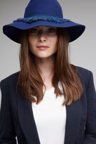 Anthropologie Wilomena Fringed Fedora