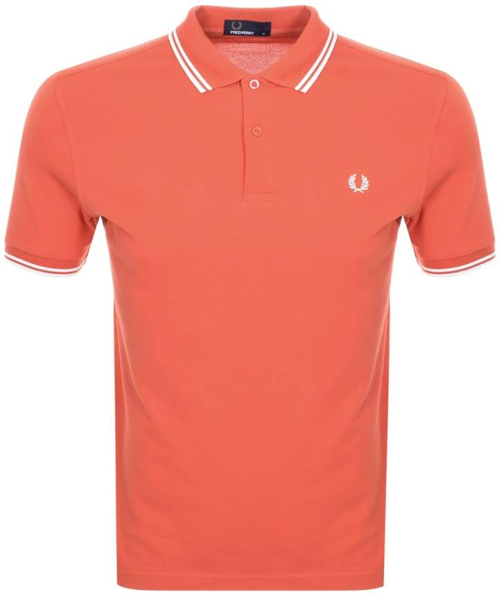 653185ac5 Fred Perry Orange Polo Shirts For Men - ShopStyle UK