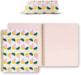 Kate Spade geo pattern journaling set
