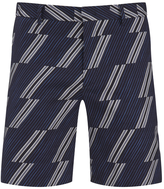 MSGM Men's Print Shorts Blue